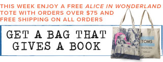 Get a bag that gives a book - See details
