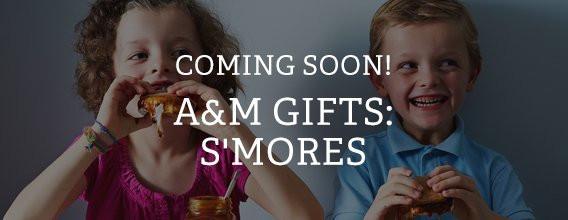 Coming Soon! A&M Gifts: S'mores