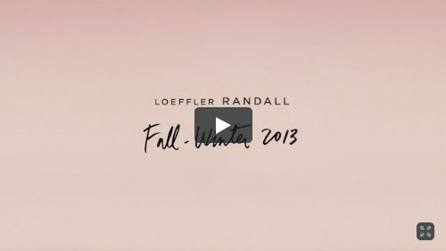 Click to WatchL: Loeffler Randall Fall-Winter 2013 Collection Video