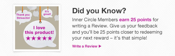 Inner Circle Members earn 25 points for writing a Review.