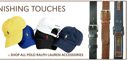 FINISHING TOUCHES | SHOP ALL POLO RALPH LAUREN ACCESSORIES