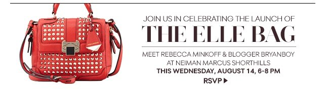 Join us in celebrating the launch of The Elle Bag