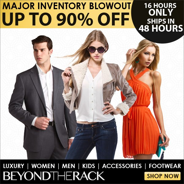 Inventory Blowout - Up to 90% Off