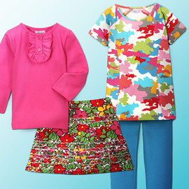 Sweetest of Sets: Girls' Apparel