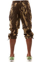 The Lo Post Cargo Pants in Tiger Camo