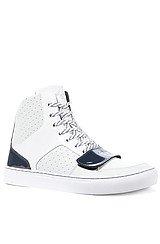 The Cesario X Sneaker in Vapor, White, & Navy