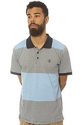 The Core Collection Striped Polo in Navy