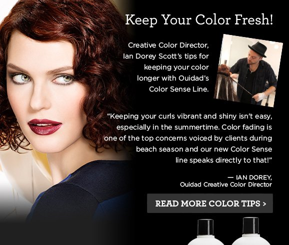 Keep Your Color Fresh Tips!