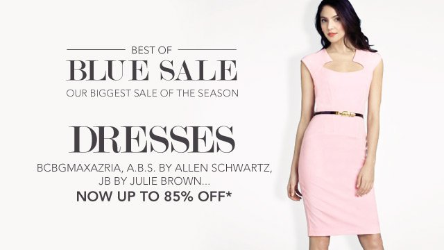 Blue Sale Dresses