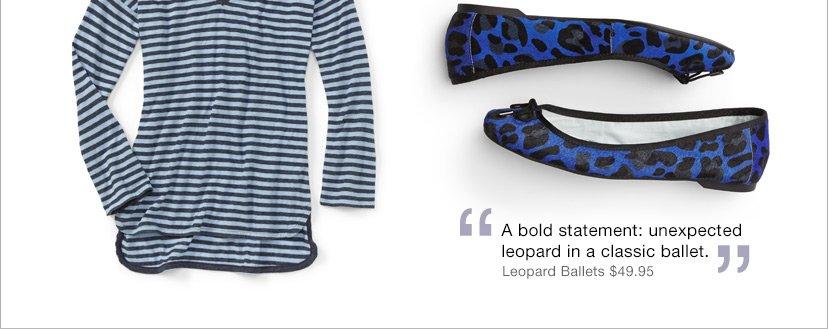 Leopard Ballets $49.95