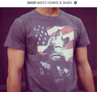 Shop mens t-shirts and tanks!