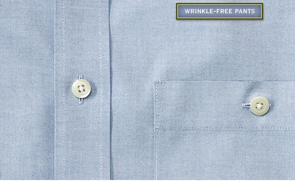 Shop Our Wrinkle-Free Pants