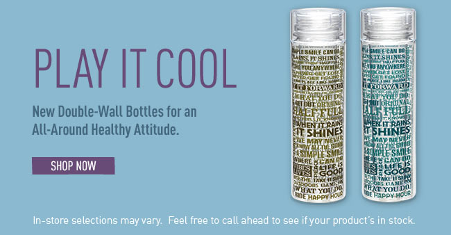 Play It Cool - Shop Life is good Water Bottles