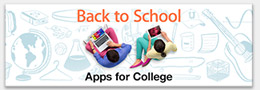 Back to School Apps for College