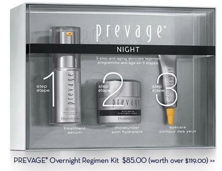 PREVAGE® Overnight Regimen Kit, $85.00 (Worth over $119.00)