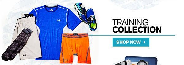 TRAINING COLLECTION. SHOP NOW.