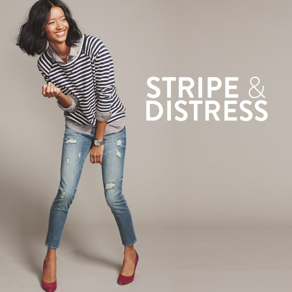 STRIPE & DISTRESS
