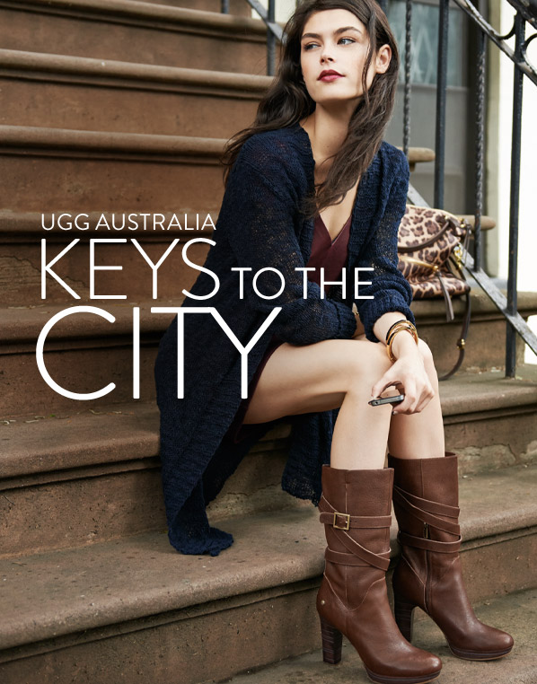 UGG AUSTRALIA - KEYS TO THE CITY