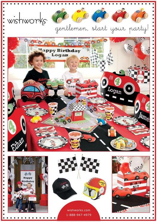 racecar party