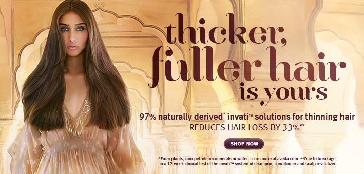 thicker fuller hair is yours. shop now.