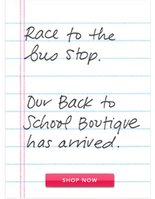 Our Back to School Boutique has arrived