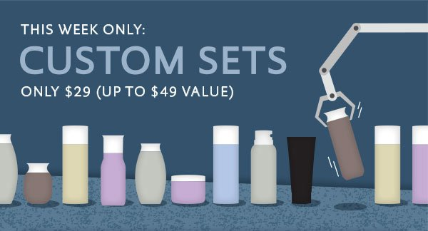 This Week Only - Build a Custom Set for $29