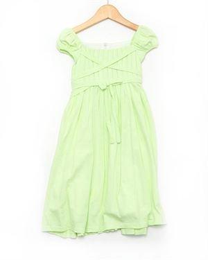 Isobella & Chloe Girl's Carmel Apple Dress