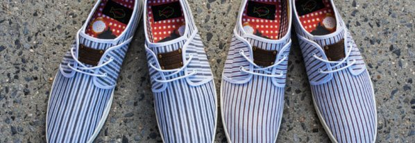 Jack threads new best selling fish n chips shoes the for Fish and chips shoes