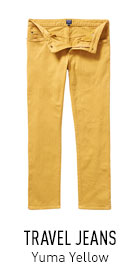 Travel Jeans Yellow