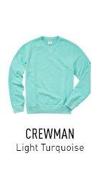 Crewman Turquoise Sweatshirt