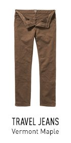 Travel Jeans Brown