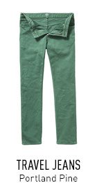 Travel Jeans Green