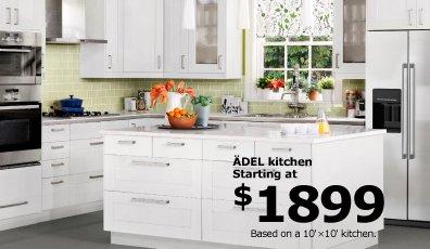 ÄDEL kitchen starting at $1899