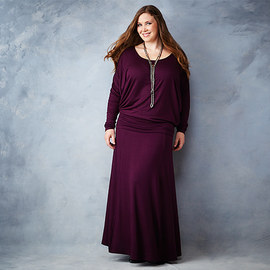 Berry Shades: Plus-Size Apparel