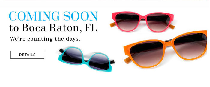 Coming Soon to Boca Raton, FL. Details.
