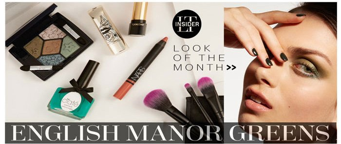 LT Insider. Look of the Month. English Manor Greens.