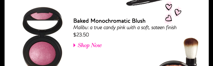 Backed Monochromatic Blush