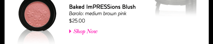 Baked Impressions Blush