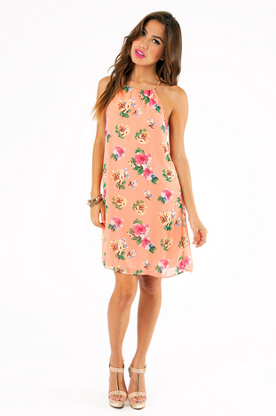 INTO BLOOM SHIFT DRESS 39
