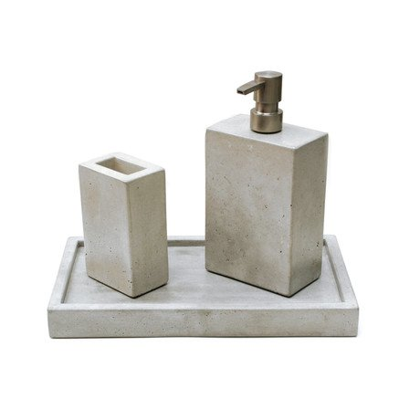 Concrete Bathroom Set