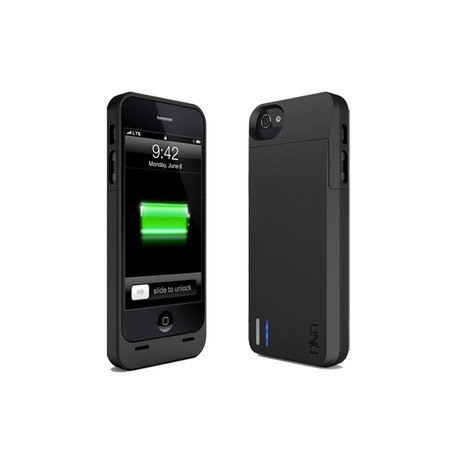 DX Protective Battery Case for iPhone 5 // Matte Black