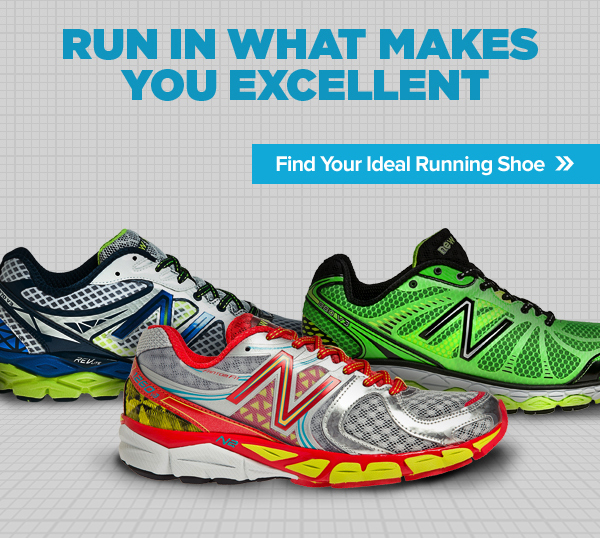 Find Your Ideal Running Shoe