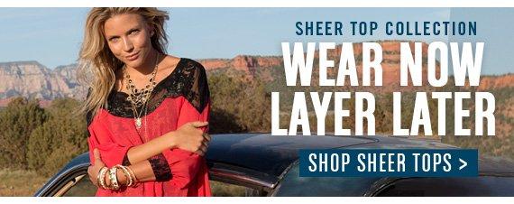 Shop Sheer Tops