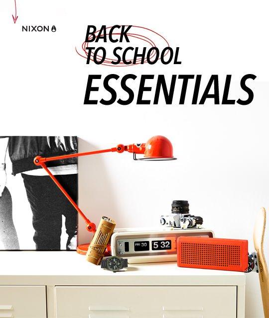 Nixon | Back-To-School Essentials