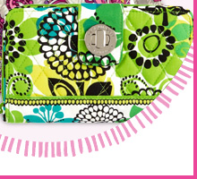 Turn Lock Wallet in Lime's Up