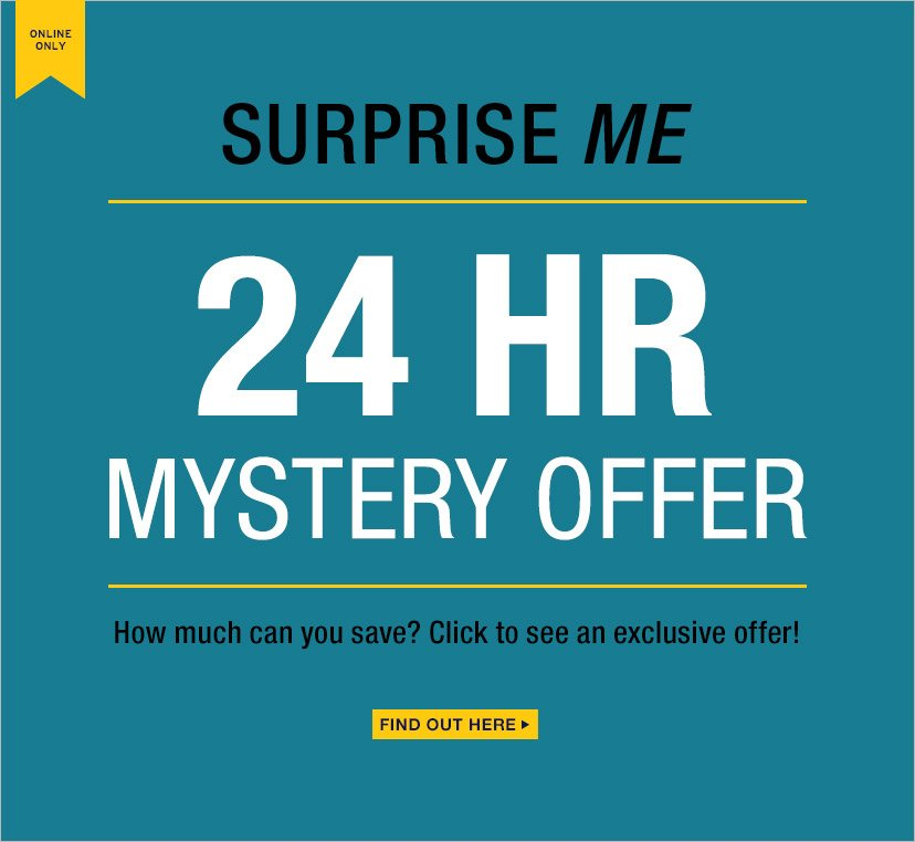 SURPRISE ME | 24 HR MYSTERY OFFER | FIND OUT HERE