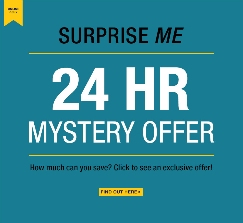 SURPRISE ME   24 HR MYSTERY OFFER   FIND OUT HERE