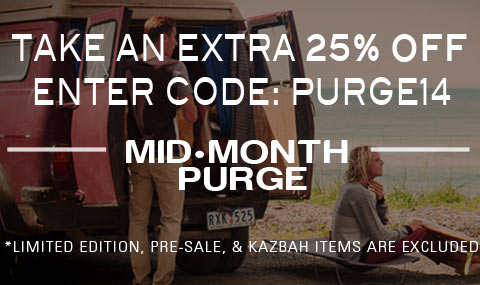 Get an Extra 25% Off. Use Code PURGE14.