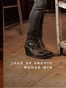 JOAN OF ARCTIC WEDGE MID
