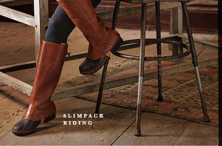 SLIMPACK RIDING